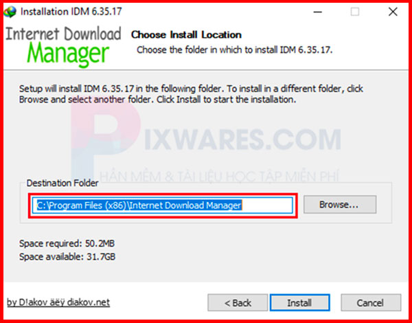 cai-dat-voi-duong-dan-mac-dinh-c-program-files-x86-internet-download-manager