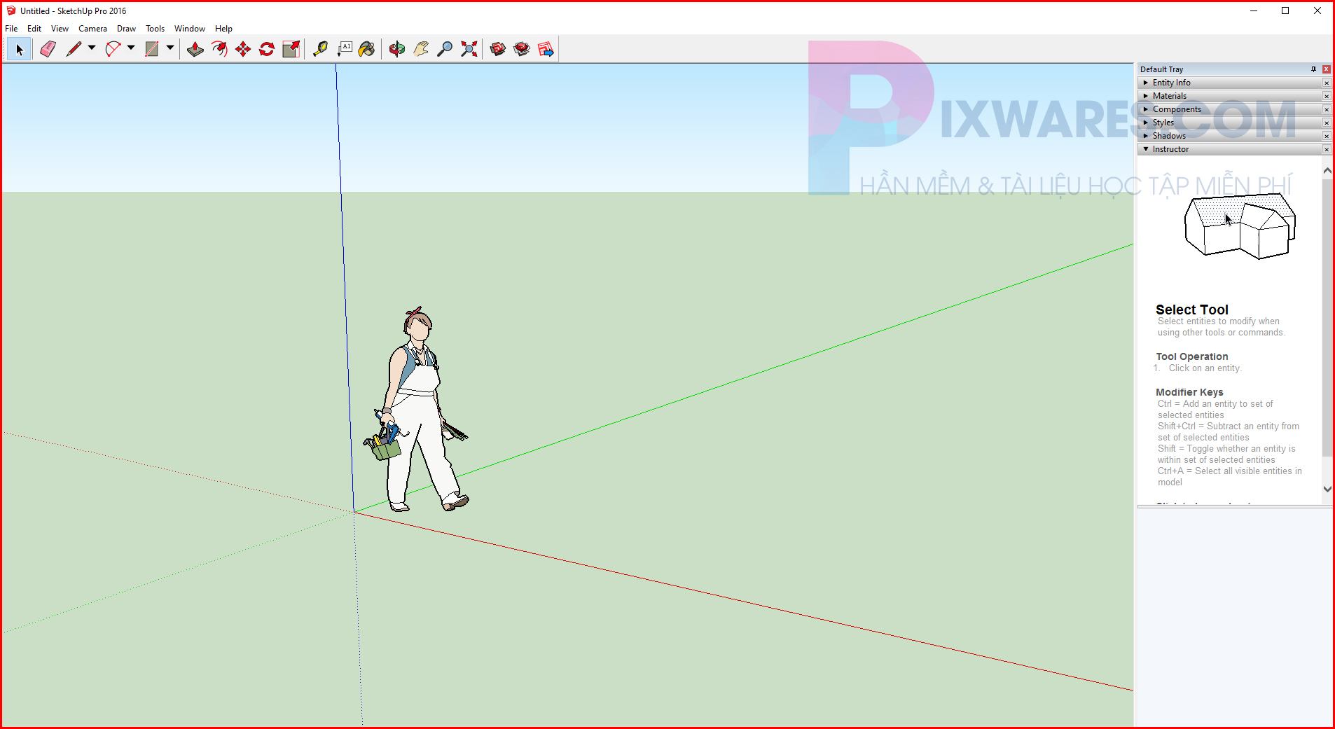 giao-dien-sketchup-2016