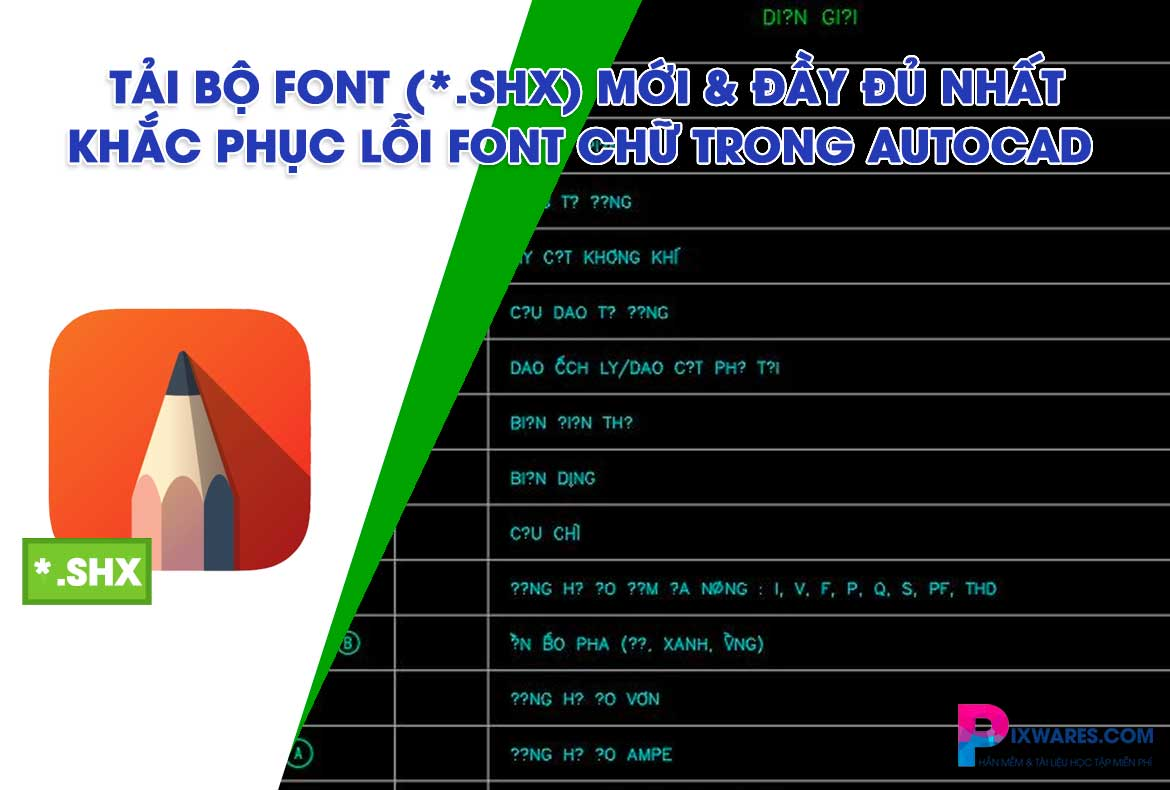 download-bo-font-shx-trong-autocad