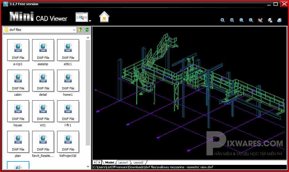 phan-mem-mo-file-dwg-mini-cad-viewer